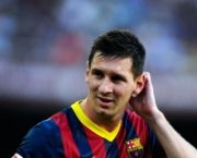 <<enter caption here>> at Camp Nou on August 18, 2013 in Barcelona, Spain.