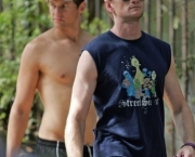 EXCLUSIVE:  Neil Patrick Harris and Boyfriend Walk the Dogs