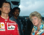 10.11.2007 Michael Schumacher with his mother - Michael Schumacher Story - www.xpb.cc, EMail: info@xpb.cc - copy of publication required for printed pictures. Every used picture is fee-liable. © Copyright: Photo4 / xpb.cc - LEGAL NOTICE: THIS PICTURE IS NOT FOR USE IN ITALY