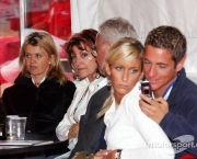 07.05.2006 N¸rburg, Germany,  Corina Schumacher (GER), Corinna, Wife of Michael Schumacher Barbara Stahl, Rolf Schumacher, Sebastian Stahl and his girlfriend Sarah - Formula 1 World Championship, Rd 5, European Grand Prix, Sunday - www.xpb.cc, EMail: info@xpb.cc - copy of publication required for printed pictures. Every used picture is fee-liable. © Copyright: Breloer / xpb.cc