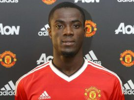 Eric Bailly Com a Camisa do Manchester United