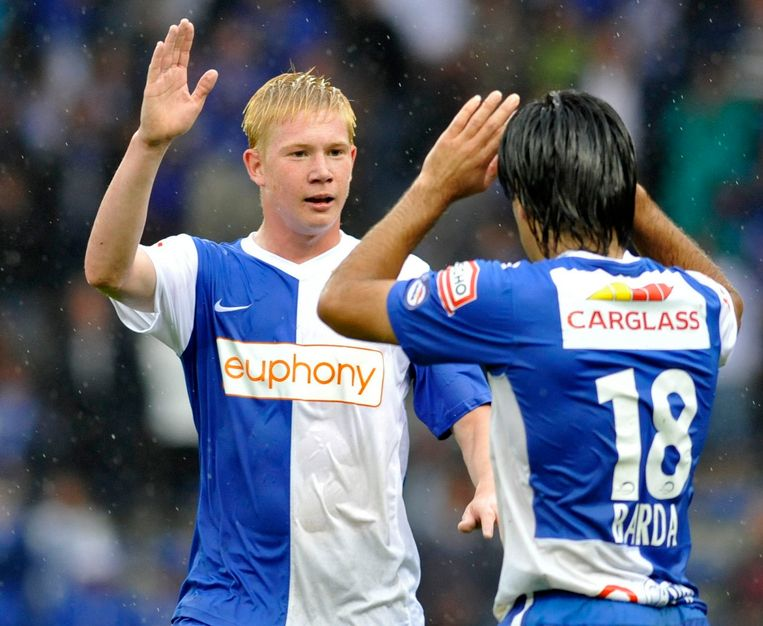 Kevin de Bruyne no Racing Genk